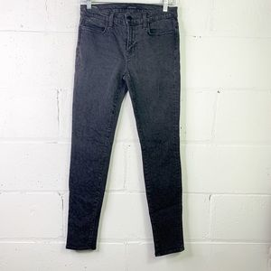 J Brand black leopard 🐆 skinny jeans